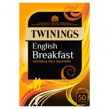 Twinings English Breakfast 50 Teabags 125G