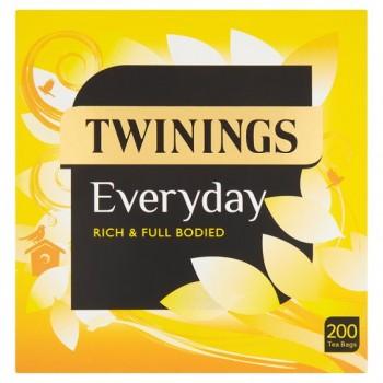Twinings Everyday 200 Tea Bags 580G