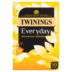 Twinings Everyday 50 Tea Bags 145G