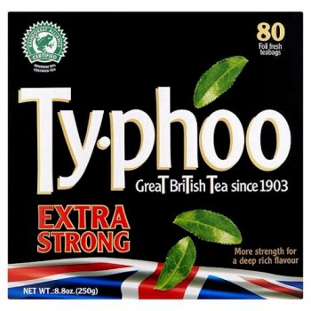 Typhoo Extra Strong Tea Bags 80S 250G