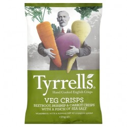 Tyrrells Crisps Mixed Root Vegetable Crisps 150G