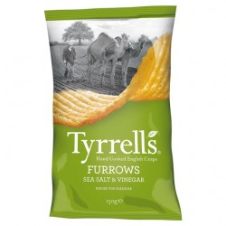 Tyrrells Salt And Vin Furr 150G