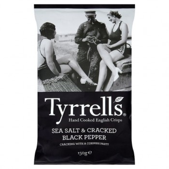 Tyrrells Sea Salt &Pepper 150G