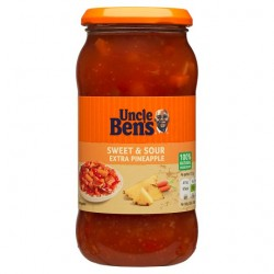 Uncle Ben's Sweet And Sour Extra Pine Sauce 450G