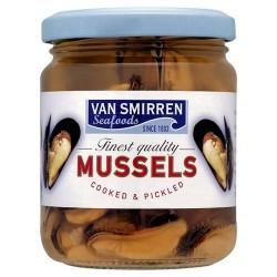 Van Smirren Mussels In Vinegar 205G