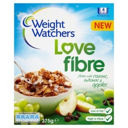 W W Rice And Wheat Flakes With Fruit Mixed 375G