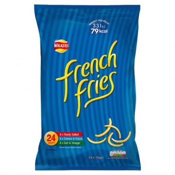 Walkers French Fries Crisps 24X18g