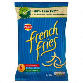 Walkers French Fries Variety 6X19g