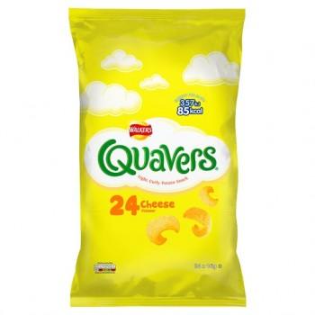 Walkers Quavers Cheese Crisps 24X16g