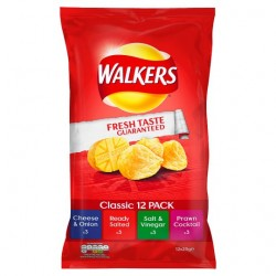 Walkers Variety Crisps 12 X 25G