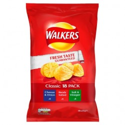 Walkers Variety Crisps 18X25g