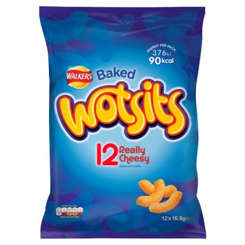 Walkers Wotsits Cheese 12X16.5G