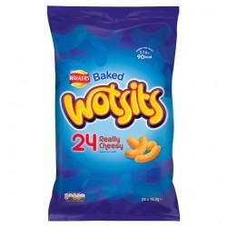 Walkers Wotsits Cheese Crisps 24X16.5G