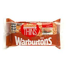 Warburtons 6 Brown Sandwich Thins