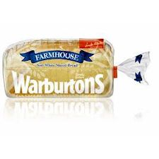 Warburtons Farmhouse White Bread 800G