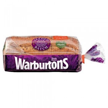 Warburtons Seeded Batch Bread 800G