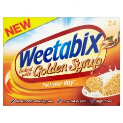 Weetabix Golden Syrup Cereal 24 Pack