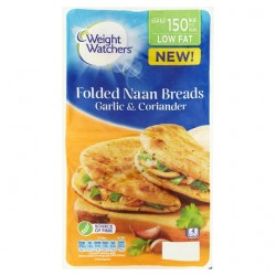 Weight Watchers Garlic And Coriander Naans 240G