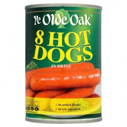 Ye Old Oak 8 Hot Dogs 400G