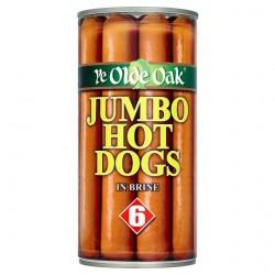 Ye Old Oak Jumbo Hot Dogs 560G