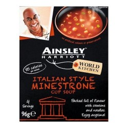 ainsley minestrone soup
