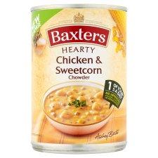 baxters chicken & sweetcorn chowder