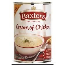 baxters cream of chicken