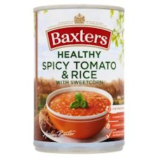 baxters spicy tomato