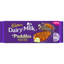 cadbury puddle mint