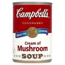 campbells cream of mushroom