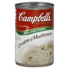 campbells low fat cream of mushroom