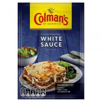 colmans white sauce