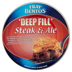 fray bentos steak & ale