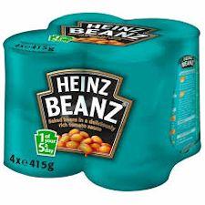 heinz beans x 4