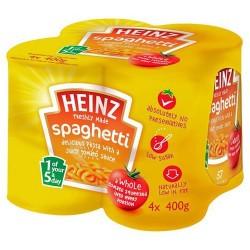 heinz spaghetti x 4
