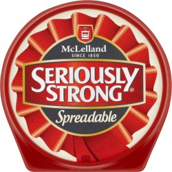 seriously strong spreadable 125g