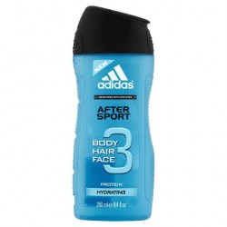 Adidas For Men After Sport Shower Gel 250Ml