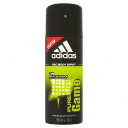 Adidas For Men Pure Game Body Spray 150Ml