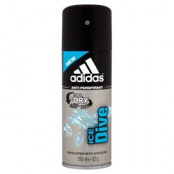 Adidas Ice Dive Antiperspirant Deodorant 150Ml