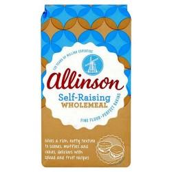 Allinson Wholemeal Self Raising Flour 1Kg