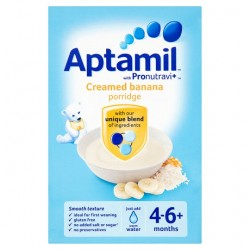 Aptamil 6Mth+ Creamed Banana Porridge 125G