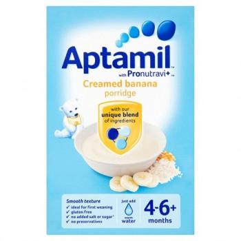 Aptamil 6Mth+ Creamed Banana Porridge 125G