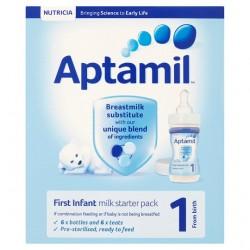 Aptamil First Milk Starter Pack 6X70ml