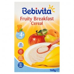 Bebivita 4-18Mth Cereal Fruity Breakfast 160G