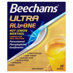 Beechams All In One Ultra Drink 10S