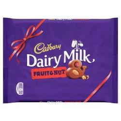 Cadbury Dairy Milk Fruit And Nut Chocolate Bar 360G