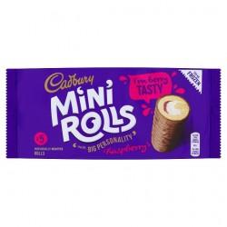 Cadbury Raspberry Mini Roll 5 Pack