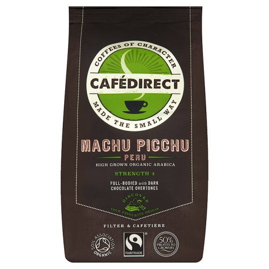 Cafedirect Machu Picchu Fair Trade Ground Coffee 227G