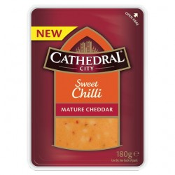 Cathedral Ciry Sweet Chili Mature Cheddar 180G