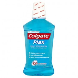 Colgate Plax Cool Mint Blue Mouthwash 500Ml